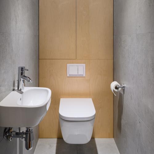 hvidt københavner badeværelset småt