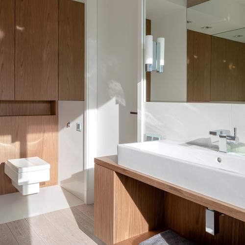 simpelt badeværelse med anderledes look